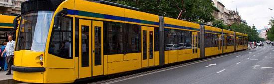 Boedapest_tram-openbaar-vervoer