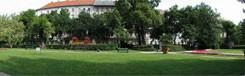 Károly Kert, een klein en intiem park