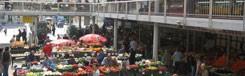 Lehel tér Piac: traditionele markt in een nieuw gebouw