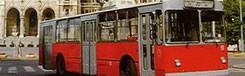Bussen en trolleybus in Boedapest
