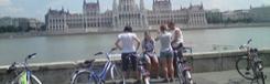 Fietsend de highlights van Boedapest bekijken