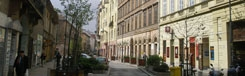 Király utca: de design straat van Boedapest