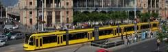 Openbaar vervoer in het centrum van Boedapest