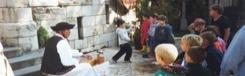 Kinderrondleiding door de Burcht